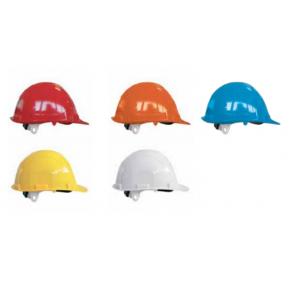 PE Schutzhelm mit 4 Befestigungspunkte