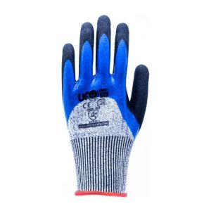 Schnittfeste Handschuhe, zweifarbig, aus Fiberglas ohne Nähte EN388:2016 1KF=12Paar