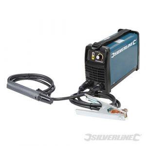 Inverter-Elektrodenschweißgerät mit Zubehör 25-200 A