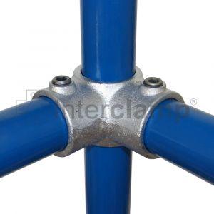 116- Eckstück durchgehend Rohrverbinder 20 STK