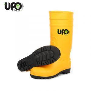 Ufo Pluto Gelbe Sicherheitsstiefel PVC S5