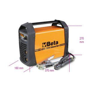 Inverter-Schweißgerät mit Gleichstromausgang (DC) zum MMA- und TIG-Elektrodenschweißen auf Stahl 1860 160A