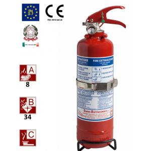 Tragbare Pulverfeuerlöscher 1kg 8A-34BC Uni En3-7