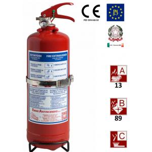 Tragbare Pulverfeuerlöscher 2kg 13A-89BC Uni En3-7
