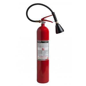 Tragbarer CO2- Feuerlöscher 5 kg 113B nach UNI EN 3-7