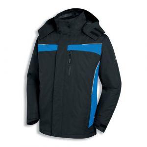 Uvex Outdoorjacke schwarz-blau