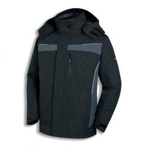 Uvex Outdoorjacke schwarz-grau