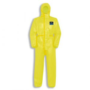 Einwegschutzbekleidung Classic-Overall Typ3B 9881/gelb