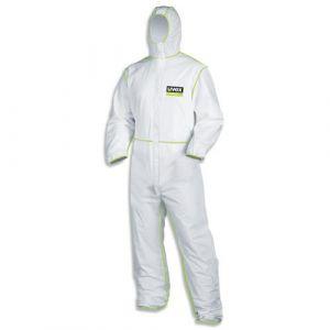 Einwegschutzbekleidung Overall Typ5/6 9877/weiss-lime