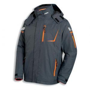 Uvex metal 3in1 Outdoorjacke Anthrazit/Schwarz/Orange