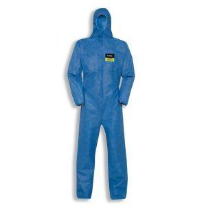 Einwegschutzbekleidung uvex 5/6 air 7448, blau