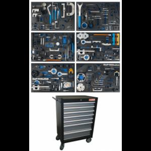 Werkstattwagen 7 Schubladen Motor-Einstellwerkzeug-Sätze