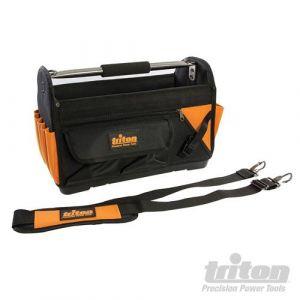 Offene Gerätetasche mit hartem Boden 400x190x280 mm