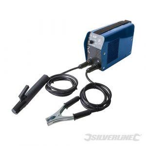 Inverter-WIG-/Elektrodenschweißgerät mit Zubehör, 10-100 A