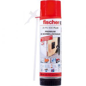 Schnellmontageschaum Fischer 2K PU 400 Plus