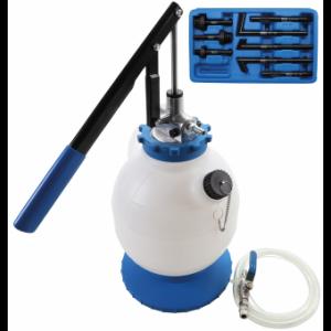Getriebeöl-Befüllgerät mit Handpumpe | mit 8 Adaptern | 7 l
