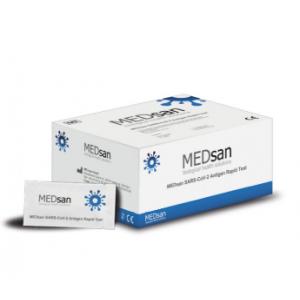 Medsan SARS-CoV-2 Antigen Rapid Test, 25 Sets (AG25)