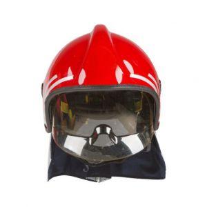 Feuerwehrhelm mit Visier Hitzebeständigkeit 180°C EN443:2008
