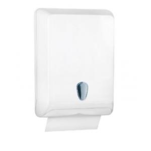Racon CE designo L Falthandtuchspender, Kunststoff,mit Sichtfenster, 400 - 800 Blatt, 29 × 40 × 13 cm