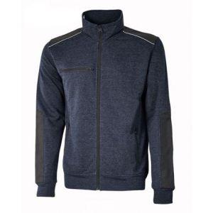 Sweatshirt-Jacke aus French Terry ohne Fütterung SNUG U-Power