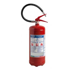 Feuerlöscher 6 kg 34A-233BC EN3/7 homologiert Jahr 2020