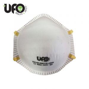 Ufo-Staubschutzmaske ohne Ausatemventil FFP1 Konf. 60Stk