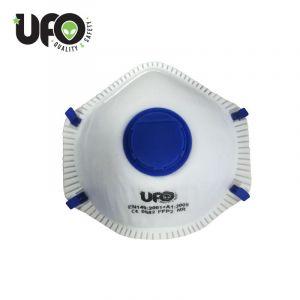 Ufo-Staubschutzmaske mit Ausatemventil FFP2 Konf. 45Stk