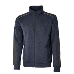 Sweatshirt-Jacke aus French Terry ohne Fütterung GYM U-Power