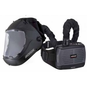 AIRMAX+ Gebläse-Atemschutzsystem mit F50 Schleifhelm