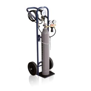 Flaschenwagenset für Spurengas-Lecksuche am Fahrzeugklimaanlagen LOKTRACE KA-500 W21,8-14 mit LOKTRACER TLD