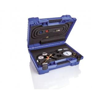 Kofferset für Spurengas-Lecksuche am Fahrzeugklimaanlagen