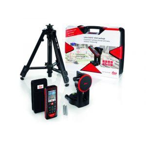 Leica Disto D510 Laserentfernungsmesser im Paket mit Schwenkadapter, Koffer