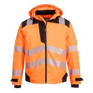 PW360 - PW3 Extreme Regenjacke Orange/Schwarz - Gelb/Schwarz