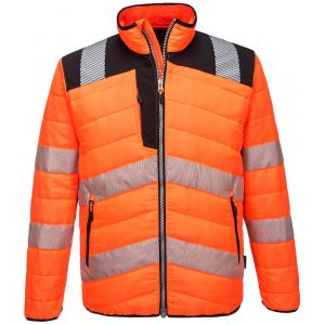 PW371 - PW3 Warnschutz Baffle Jacket Orange/Schwarz-Gelb/Schwarz