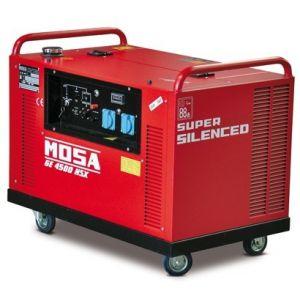 GE 4500 HSX Benzin Einphasig Stromgenerator Mosa 3000 RPM