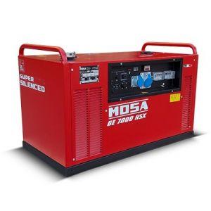 GE 7000 HSX Benzin Einphasig Stromgenerator Mosa 3000 RPM