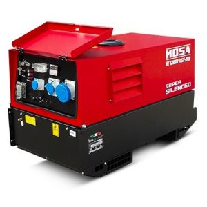 GE 12000 KSX/GS - AVR Benzin Einphasig Stromgenerator Mosa 3000 RPM