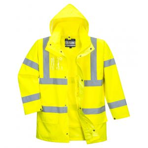 S765 - Hi-Vis Essential 5-in-1-Jacke Gelb/Orange