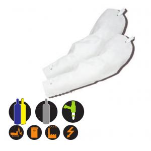 Schutzärmel aus Rindnarbenleder