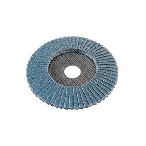 Flex-Fächerschleifscheibe für Metall und Edelstahl, bombiert Ø 125, P80 VPE 10Stk Art. Nr 349.933